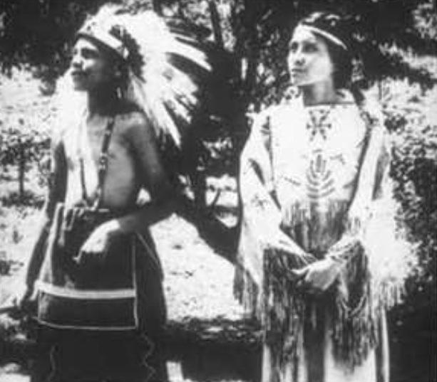 Cherokee man and woman